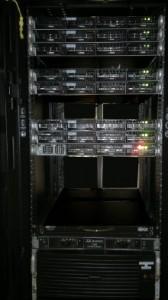 Atocatl consta de un cluster para cálculo numérico, un sistema para procesamiento y manejo/almacenamiento de grandes bases datos y una parte experimental que utiliza procesadores GPU.