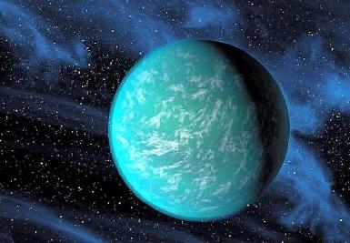 Kepler-22b is located 600 light-years away.