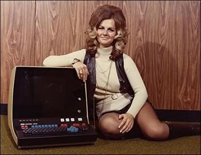 Mujer en la programación