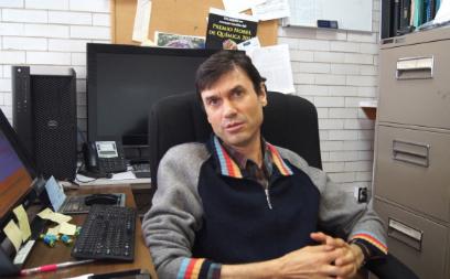 Doctor Gerardo García Naumis.