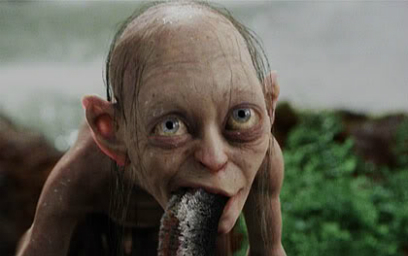 Gollum_eating